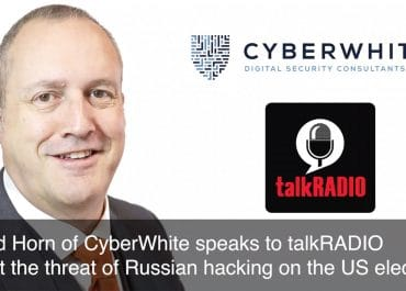 David Horn speaks to talkRADIO about the threat of Russian Hacking on the US Elections